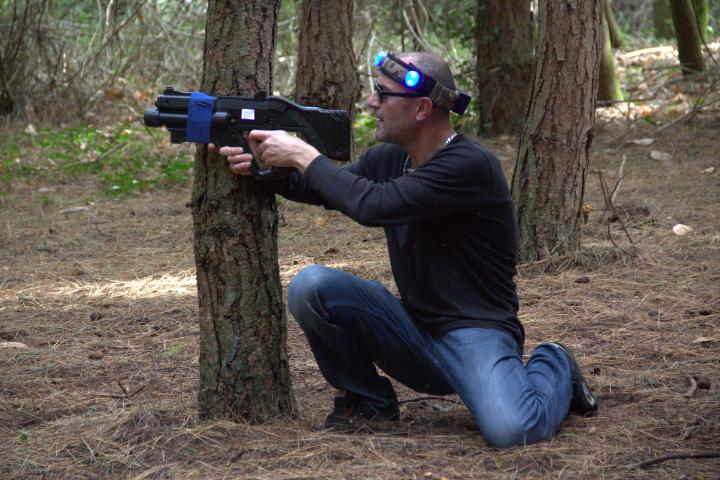 Notre terrain de Laser Tag